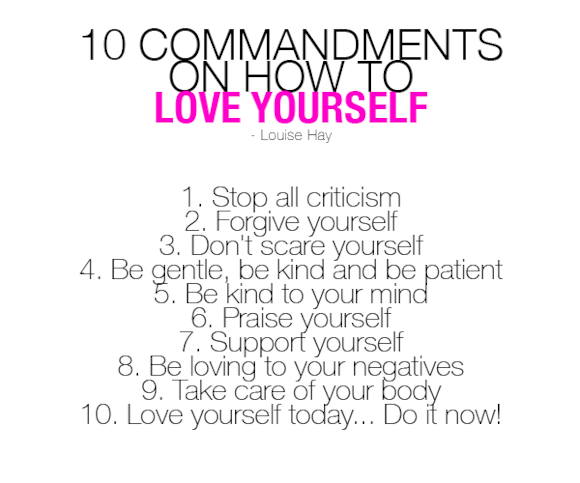 Love-Yourself-Commandments